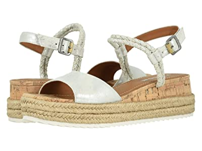 Trask Christine (Ivory Metallic Suede) Women