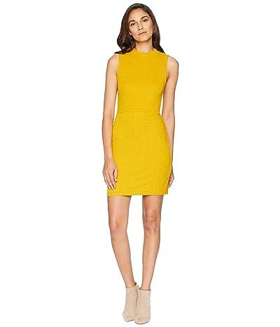 Jack by BB Dakota Honey Ryder Knit Jacquard Bodycon Dress (Marigold) Women