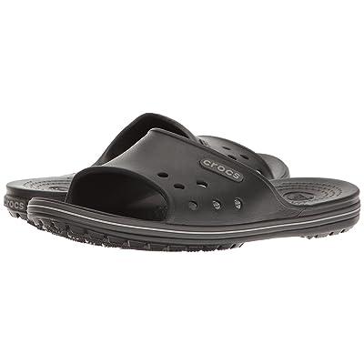 Crocs Crocband II Slide (Black/Graphite) Slide Shoes