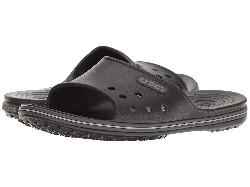 Crocs Crocband II Slide (Black/Graphite) Slide Shoes