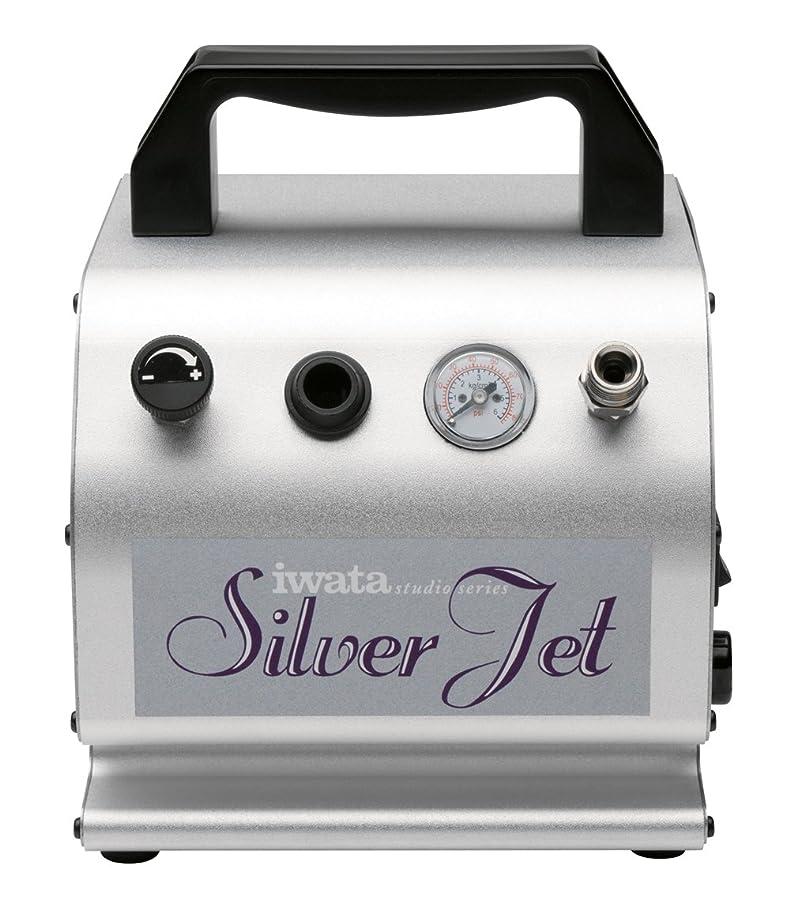 Iwata-Medea Studio Series Silver Jet Single Piston Air Compressor