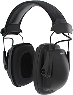 Howard Leight by Honeywell Sync Stereo MP3 Earmuff (1030110), Black