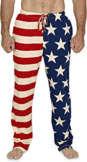 Men's Vintage American Flag Patriotic Pajama Lounge Pants or Shorts