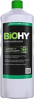 BiOHY Limpiador de joyas (1 botella de 1 litro) | Fórmula de brillo activo |Limpieza sostenible y suave para relojes, gafa...