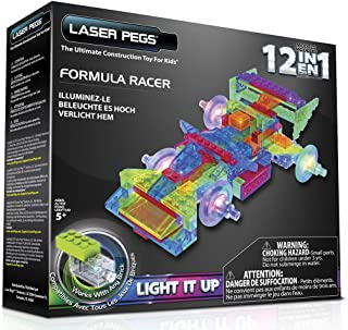 Laser Pegs 12-in-1 Formula Racer Kit