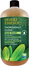 product image for Desert Essence Thoroughly Clean Face Wash - Original - 32 Fl Oz -Tea Tree Oil -For Soft Radiant Skin - Gentle Cleanser - Extracts Of Goldenseal, Awapuhi, & Chamomile Essential Oils