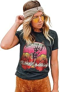 Women's Tops New York City Grateful Dead Vintage Tee T Shirt