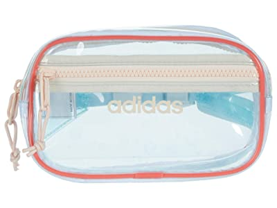 adidas Clear II Waist Pack (Sky Tint/Semi Flash Red/Pink Tint) Bags