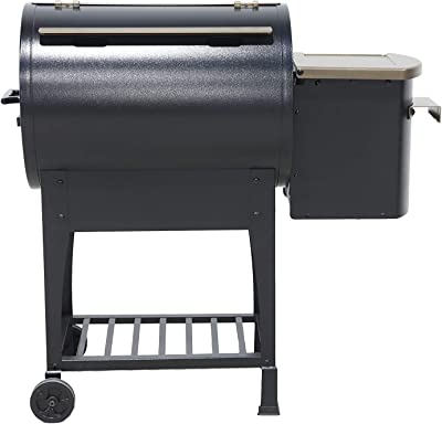 Ozark Grills - The Razorback Wood Pellet Grill a Smoker with Temperature Probe, 11 Pound Hopper, 305 Square Inch Cooking Area