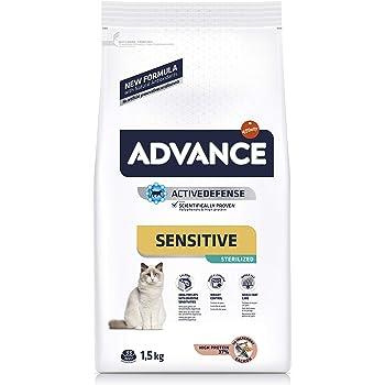 Advance Veterinary Diets Gastroenteric Sensitive - Pienso para Gatos, 1.5 kg: Amazon.es: Productos para mascotas