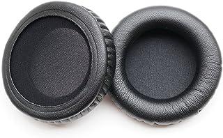 イヤーパッドearpadsレザークッションの修理部品ATH-WS55X ATH-WS55オーディオテクニカのヘッドホンのために(earmuffes)ヘッドセット Audio Technica(1対)