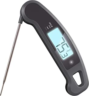 Lavatools Javelin PRO Duo Ambidextrous Backlit Professional Digital Instant Read Meat Thermometer for Kitchen, Food Cooking, Grill, BBQ, Smoker, Candy, Home Brewing, and Oil Deep Frying