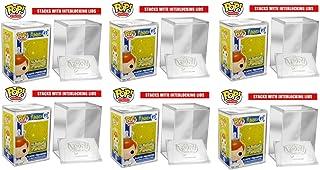 Funko POP StACKS 6-Pack # 1 Vendedor - Estuche protector de plástico duro para figuras Funko Pop de tamaño normal
