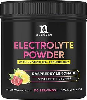 Nutriana Keto Electrolyte Powder Hydration Supplement - Hydration Powder - Keto Electrolytes Supplement - No Sugar, 0 Carb...
