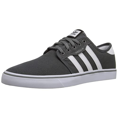 san francisco a3154 6386b adidas Mens Seeley Skate Shoe