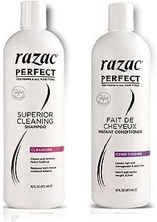 Razac Perfect Superior Cleasning Shampoo 16oz & Instant Conditioner 16oz
