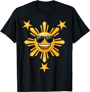 Filipino Kids Philippine Flag Shirts | Happy Sun and Stars