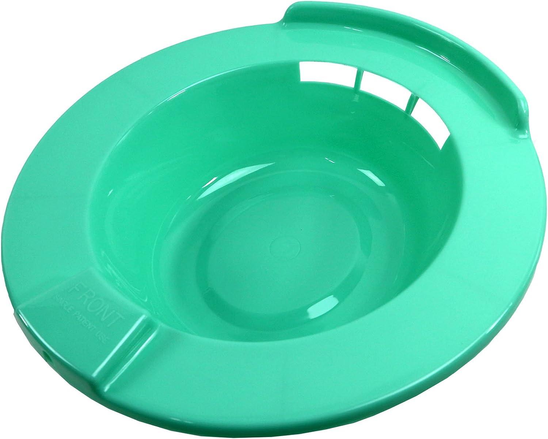 Time sale JBS Super popular specialty store Plastic Hard Sitz Bath for Bowl Toilet Care Hemorrhoid Mater