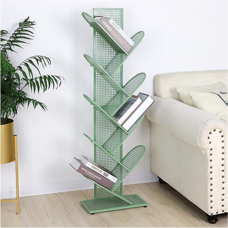 Bookshelf security 9-Tier Tree Compact NEW Storage Metal Grid Rack