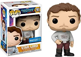Funko POP! Marvel Guardians Of The Galaxy Vol. 2 #261 Star-Lord With Gear Shift Shirt - New, Mint Condition