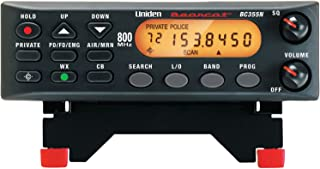 "Uniden BC355N 800 MHz 300-Channel Base/Mobile Scanner. Close Call RF Capture Technology. Pre-programmed Service Search. ""Action"" Bands to Hear Police, Ambulance, Fire, Amateur Radio, Public Utilities, Weather, and More., Black, One Size"