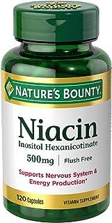 Nature's Bounty Niacin Flush Free 500 mg
