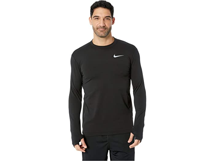 Estar confundido águila Cuidar  Nike Sphere Element Top Crew Long Sleeve 2.0 | 6pm
