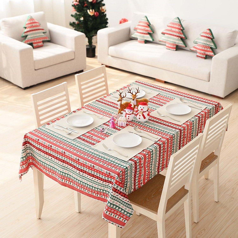 JFFFFWI Tapis de Table voitureré,Housse Table Ronde Une Serviette 140x200cm(55x79cm)