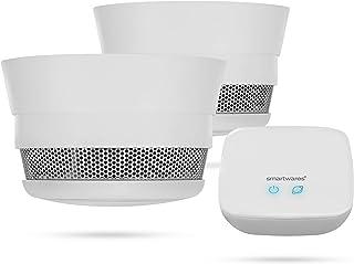 Smartwares Pro Series – Kit de Detector de Humo Inteligente, proteja su hogar