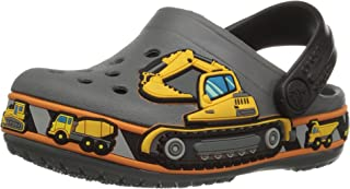 Crocs Kids' Fun Lab Construction Graphic Clog