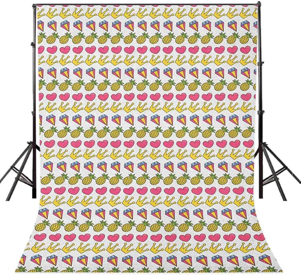 8x12 FT Vinyl Photography Background Backdrops,Simplistic Minimalist Design Maritime Oceanic Coastal Theme Water Splash Print Background for Child Baby Shower Photo Studio Prop Photobooth Photoshoot