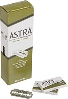 Best Astra Platinum Double Edge Safety Razor Blades ,100 Count (Pack of 1) Review