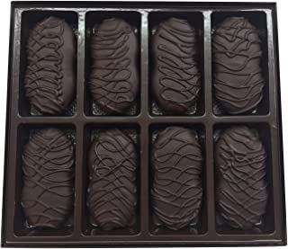 Philadelphia Candies Dark Chocolate Covered Nutter Butter Cookies, 8 Ounce Gift Box