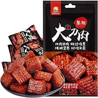Spicy Strip - Chinese Special Snack Food, Spicy Gluten Latiao, Made From Wheat / Chili / Spice, Non-GMO Food, Low Sugar an...