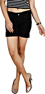 Obeo Women's Stretchable Denim Hot Short