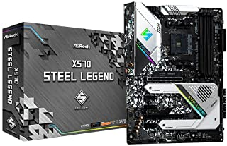 PB AM4 ASROCK X570 Steel Legend ATX, 4XD4 2933 SATA3 USB3