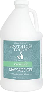 Soothing Touch Sore Muscle Massage Gel, Clove/Eucalyptus/Peppermint, 64 Ounce