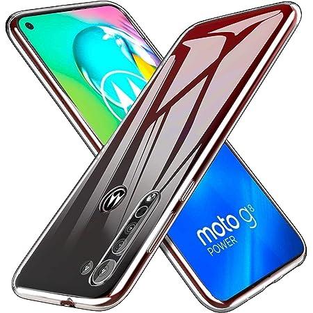Moto G8 ケース [Gosento] Moto G8 カバー TPU クリア シリコンカバー 全面保護 耐衝撃 高透明度 保護カバー