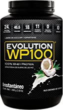 Proteína WP100 Sabor Coco 1400g. Evolution