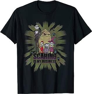 Disney The Nightmare Before Christmas Characters Halloween T-Shirt