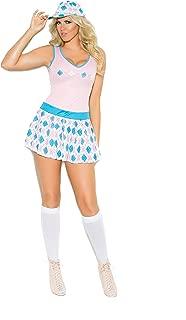 Zabeanco Sexy Women's Golf Tease Role Play Halloween Costume