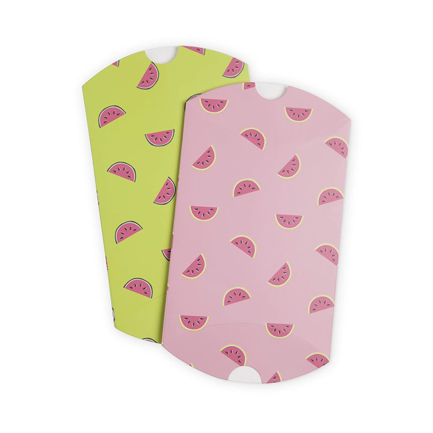 Cakewalk 6554 Assorted Watermelon Boxes Treat Bags, Multicolor
