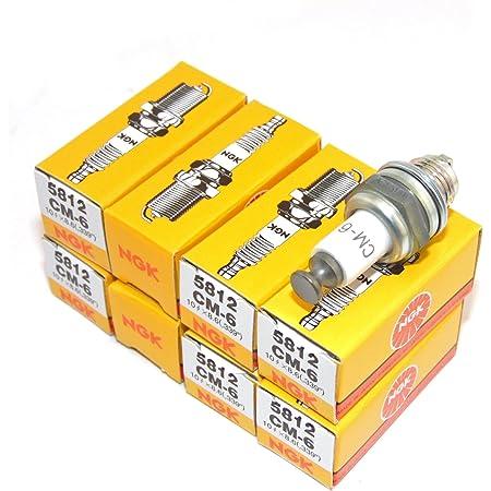 6x NGK Copper Core Spark Plug CM-6 CM6 5812