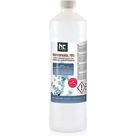 6 X 1 L Isopropanol 70 Ipa Von Höfer Chemie Perfekt Als Lösungsmittel Und Fettlöser Geeignet Nagel Cleaner Bildschirmreiniger Entfetter Drogerie Körperpflege