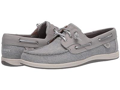 Sperry Songfish Sparkle Linen (Grey) Women