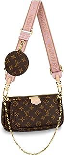 Louis Vuitton Multi Pochette Accessoires Crossbody Bags Handbags Purse Light Pink M44840