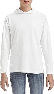 Youth Long-Sleeve Hooded T-Shirt (987B)