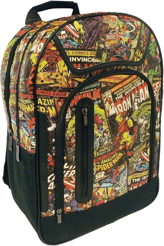 Marvel Comics Tasche, offizielles Lizenzprodukt Collection Rucksack