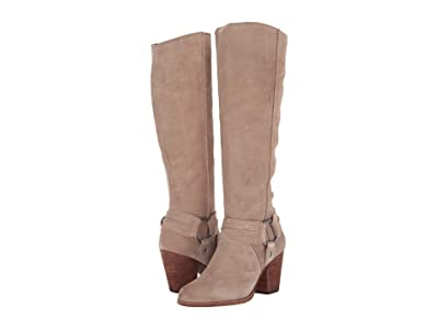 Frye Essa Seam Harness Tall (Beige) Women
