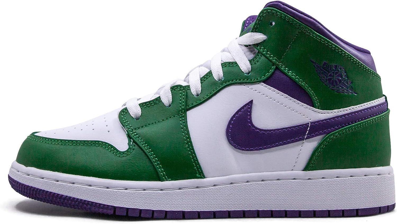 Jordan Youth Air 1 Mid (Gs) Hulk 554725 300 Size